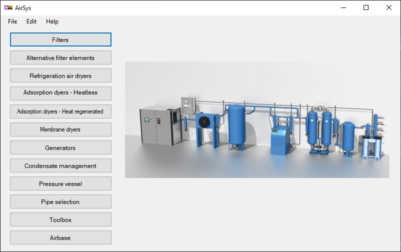 dimensioning system airsys
