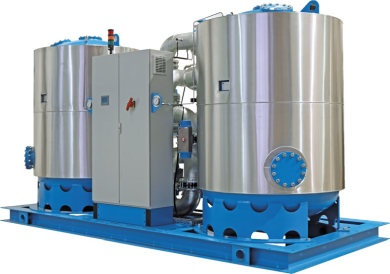 Desiccant adsorption dryers for cement production | Omega